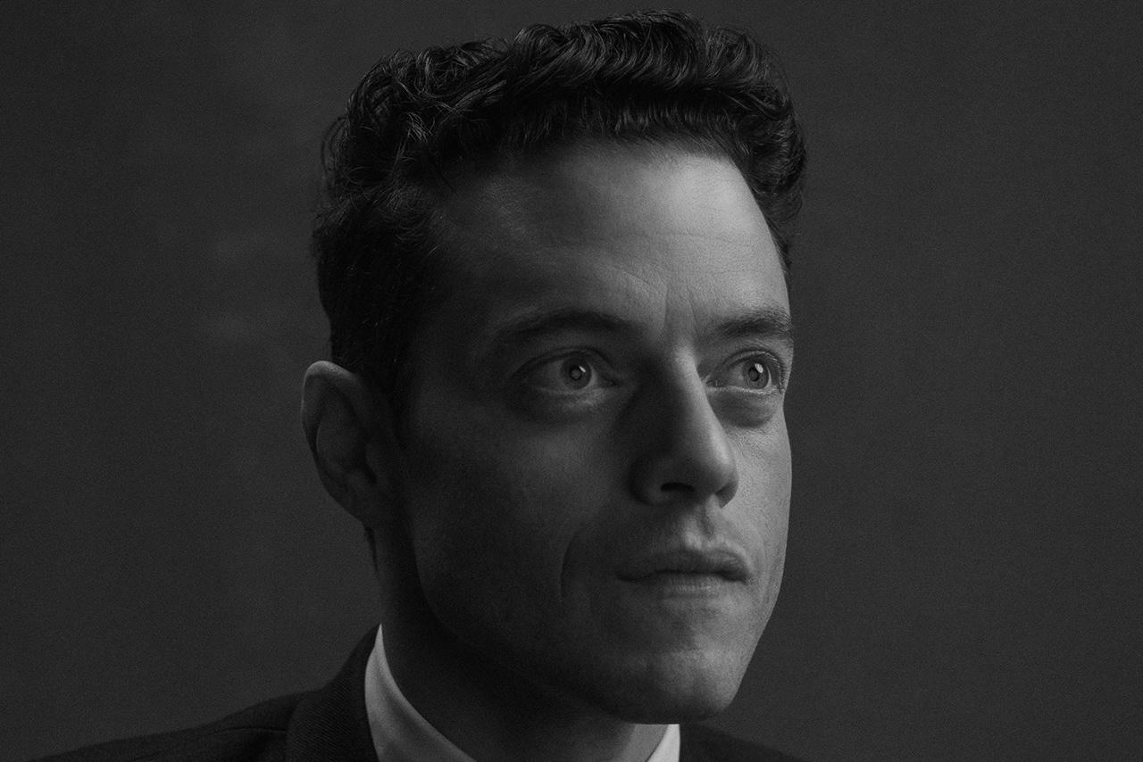 Rami Malek portrait shot by Ty Johnson