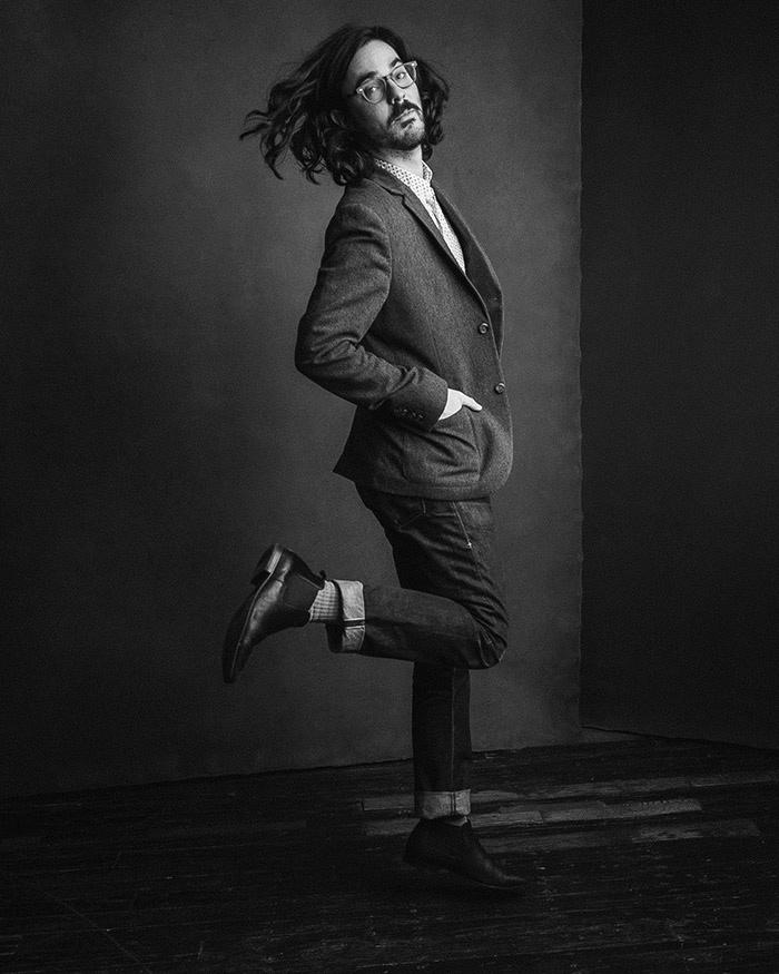 Ty Johnson portrait shot by Drew Gurian