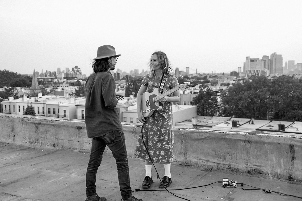 Ty Johnson directing Julia Jacklin for Sideshow Alley