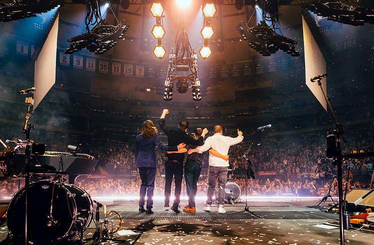 Mumford & Sons live at Madison Square Garden