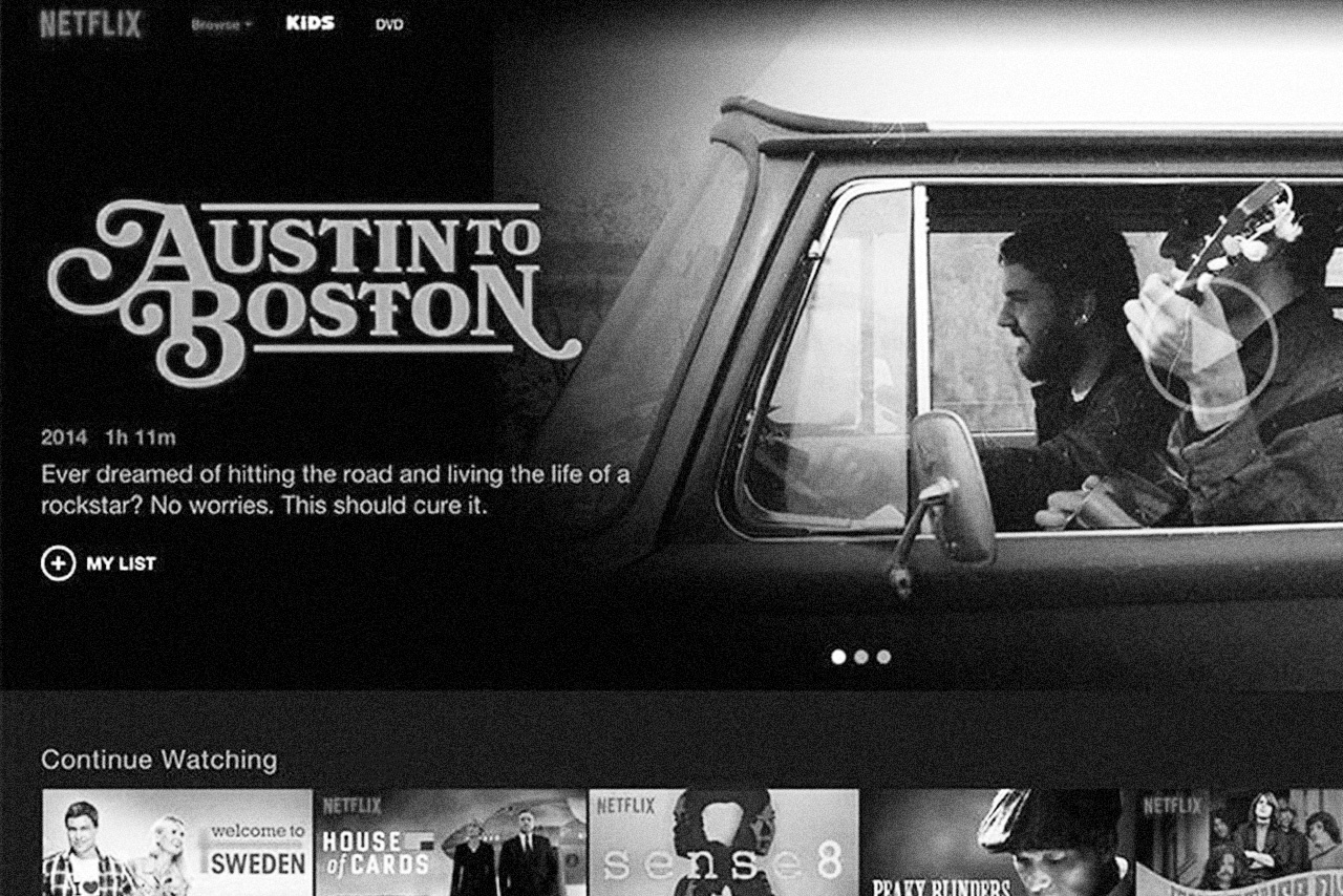 Austin to Boston streaming on Netflix
