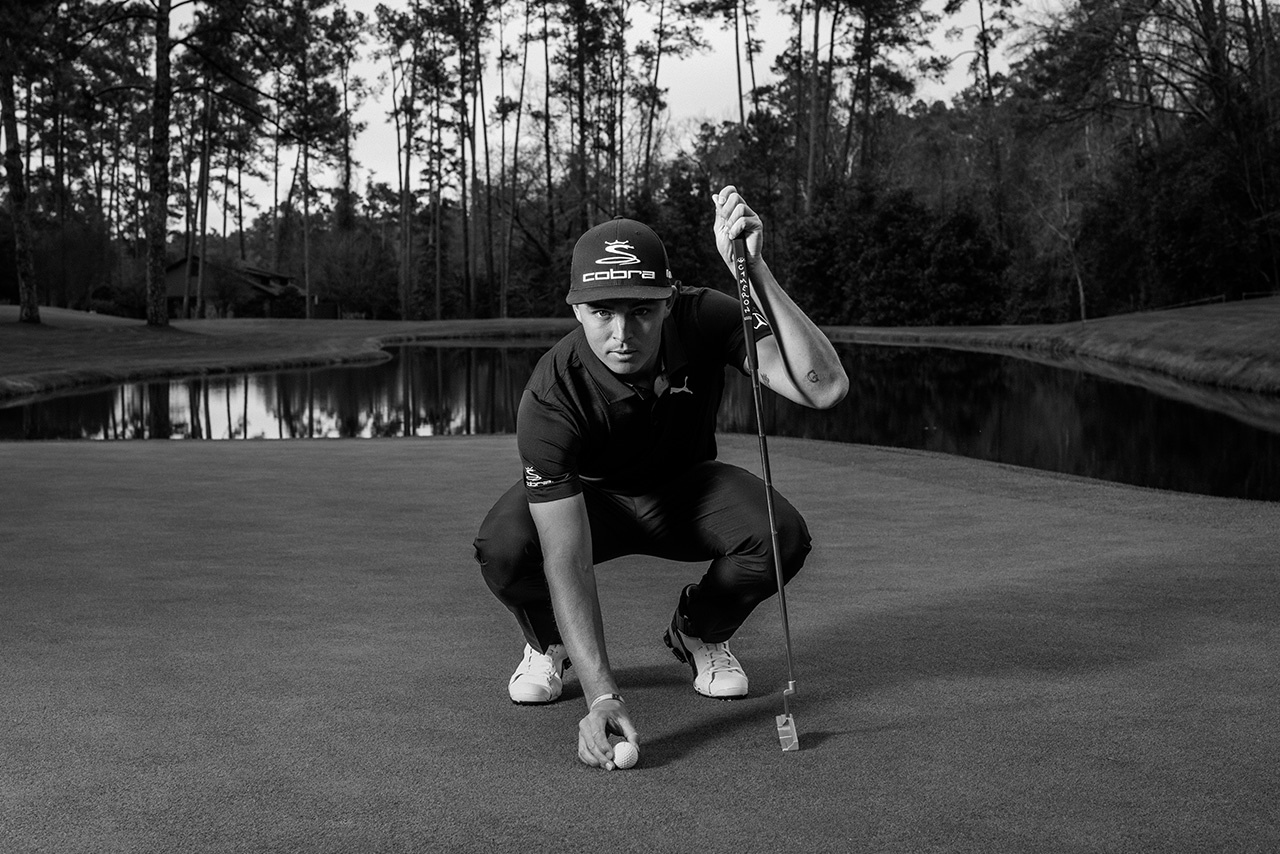 Rickie Fowler shot for Mercedes-Benz at The Masters