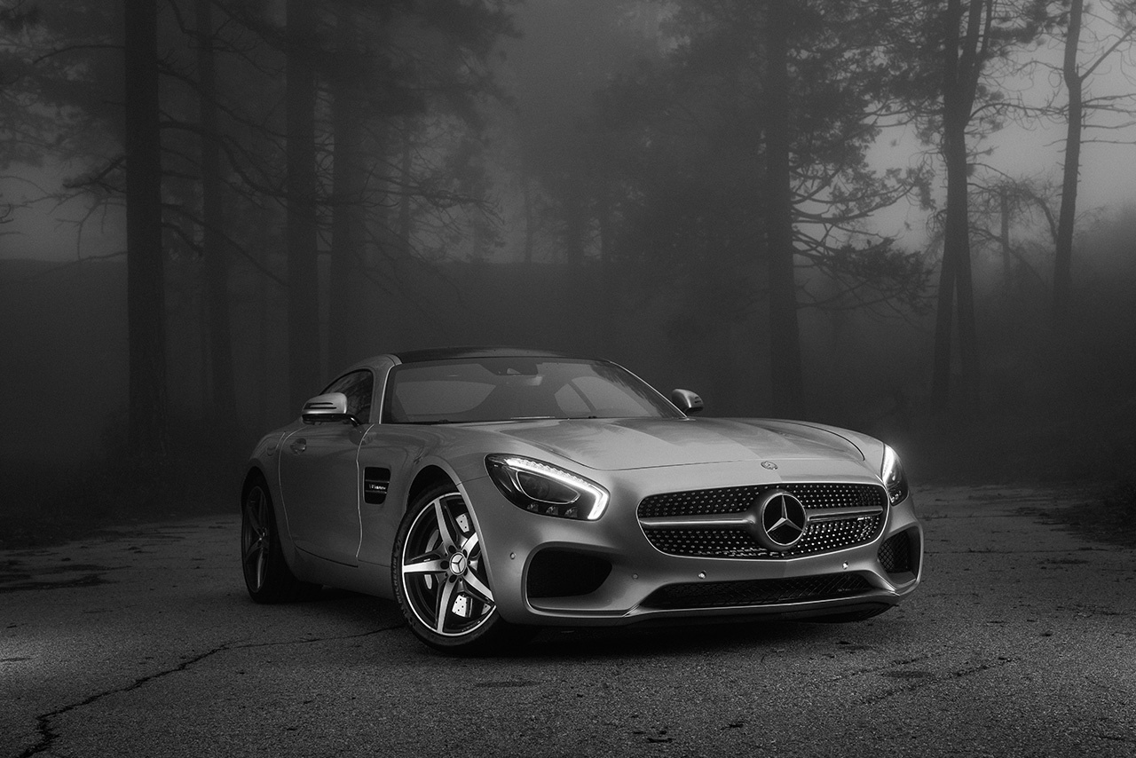 Mercedes-Benz AMG shot by Ty Johnson